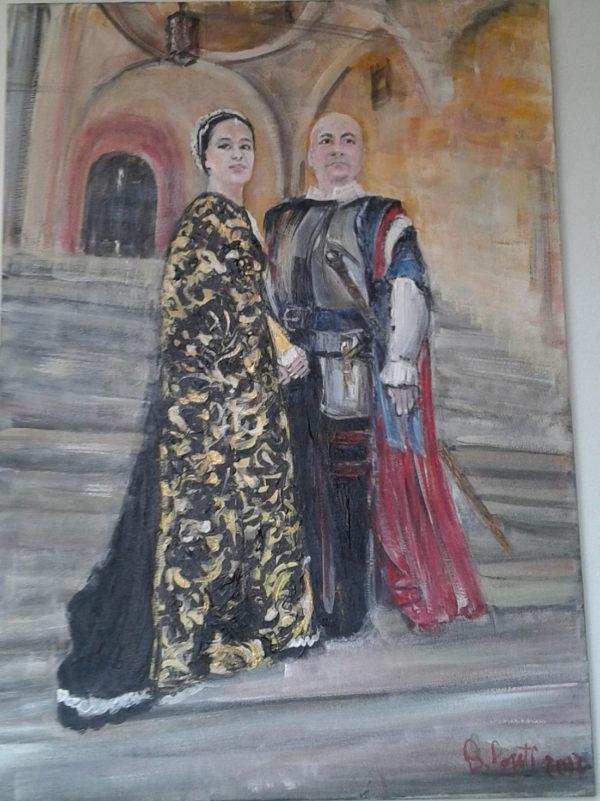 Una-coppia-della-Corte-Ducale-(web)